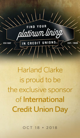 Harland Clarke is proud to be the exclusive sponsor of International Credit Union Day